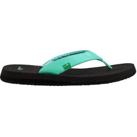 Sanük Yoga Mat Sandalen Dames zwart/turquoise